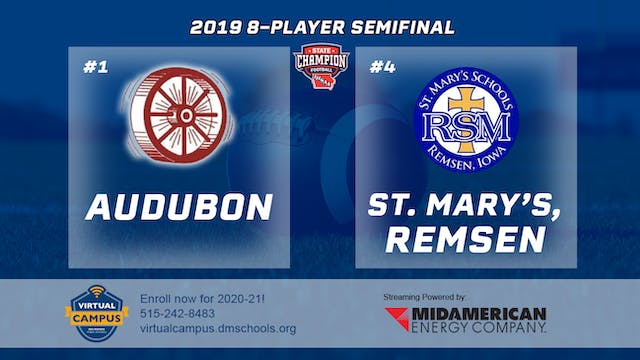 2019 Football 8-Player Semifinal - #3...