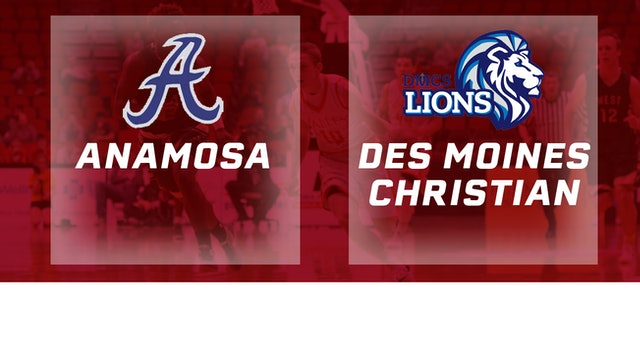 2016 Basketball 2A Quarterfinal Anamosa vs. Des Moines Christian