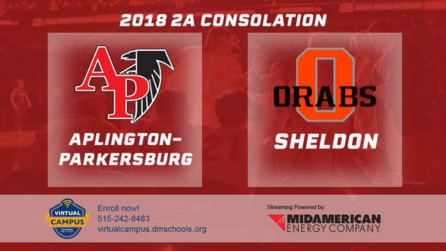 2018 Basketball Class 2A Consolation (Aplington-Parkersburg vs. Sheldon)