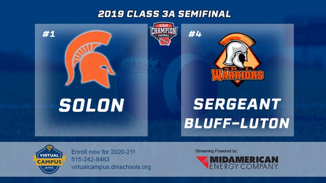 2019 Football 3A Semifinal - #1 Solon...