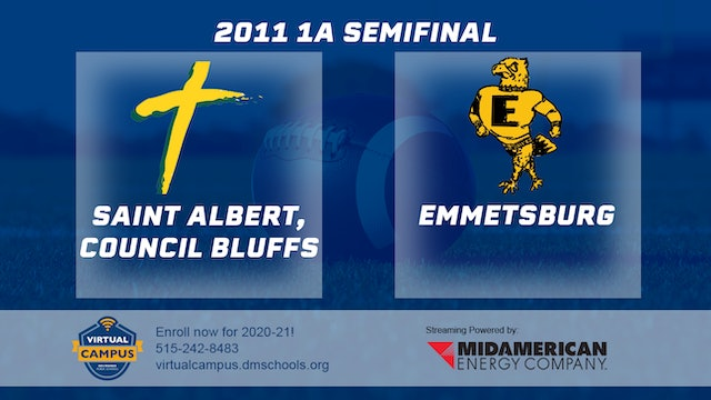 2011 Football 1A Semifinal - St. Albert, Council Bluffs vs. Emmetsburg