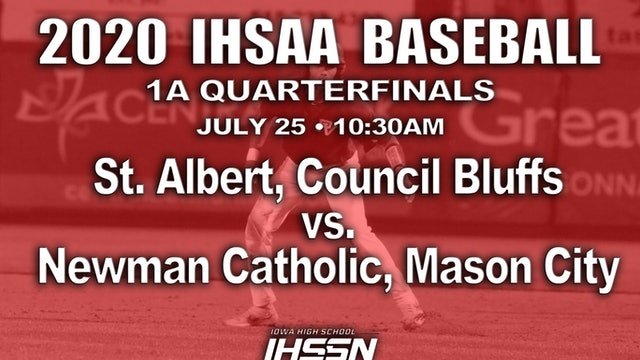 1A QF - St. Albert, Council Bluffs vs. Newman Catholic, Mason City