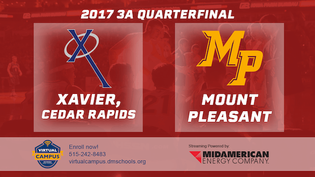 2017 Basketball 3A Quarterfinal (Xavi...