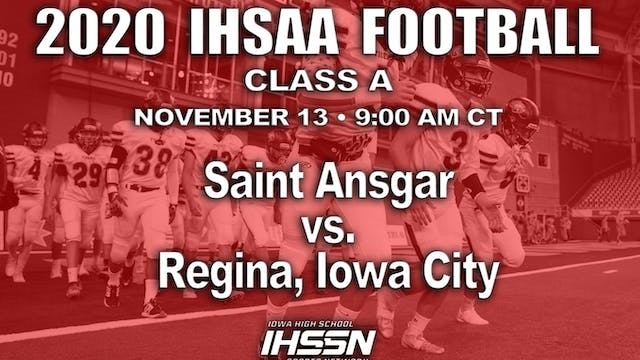 Regina, Iowa City 49 vs Saint Ansgar ...