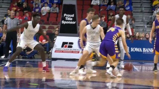 2019 Basketball Highlights - 1A Final Grand View Christian vs. Alburnett