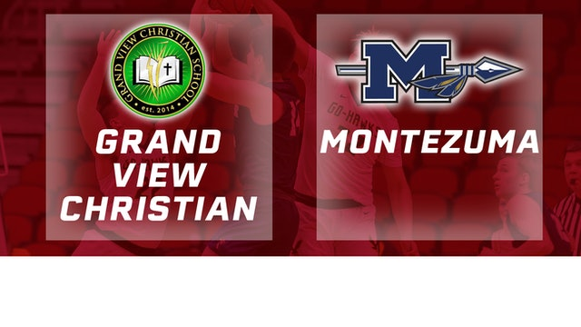 2019 Basketball 1A Semifinal - Grand View Christian vs. Montezuma