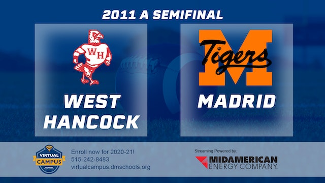2011 Football Class A Semifinal - West Hancock, Britt vs. Madrid