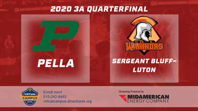 2020 Basketball 3A Quarterfinal Highlights (Sergeant Bluff-Luton | Pella)