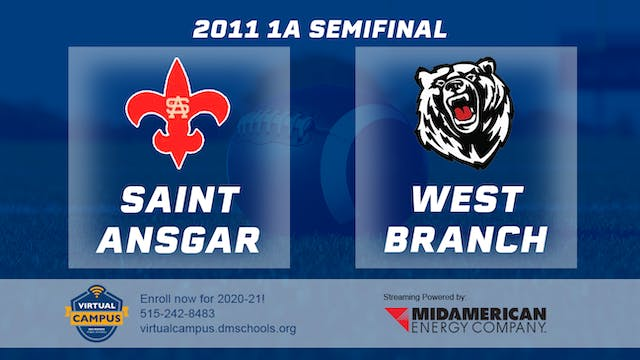 2011 Football 1A Semifinal - Saint An...