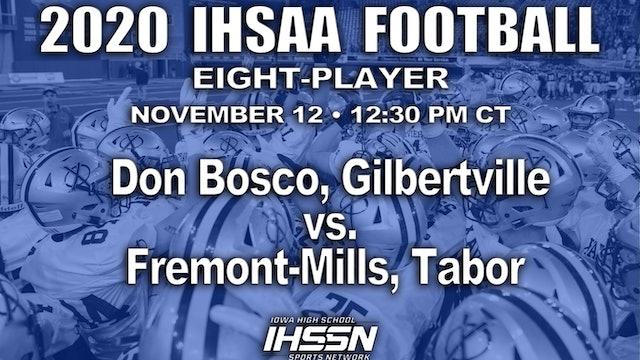 Fremont-Mills, Tabor 32 vs Don Bosco, Gilbertville 30 - 8 Player SEMI FINAL