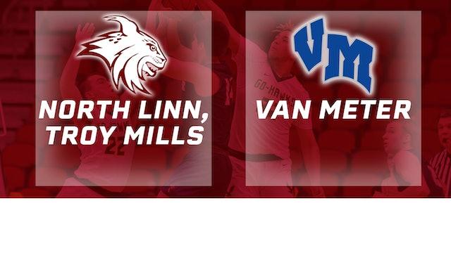 2019 Basketball 2A Semifinal - North Linn, Troy Mills vs. Van Meter