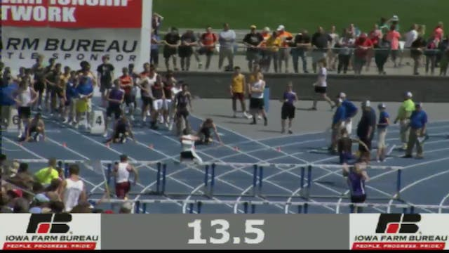 Boys Shuttle Hurdle Relay 2A Final Se...