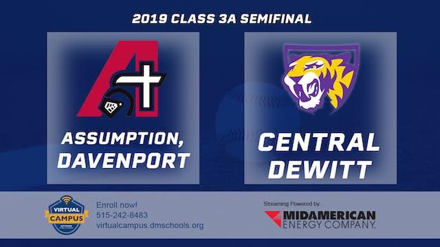 2019 Baseball 3A Semifinal - Assumpti...