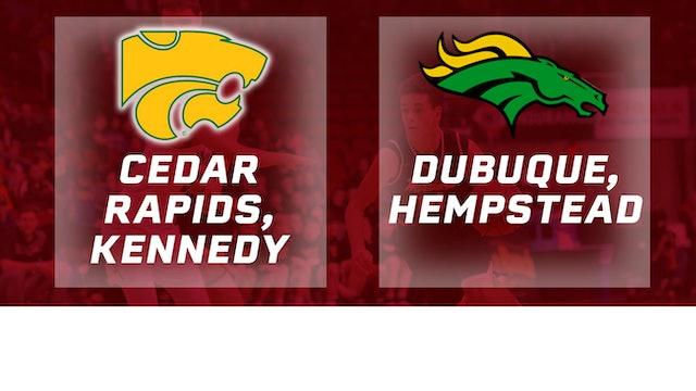 2017 Basketball 4A Quarterfinal (Cedar Rapids, Kennedy vs. Dubuque, Hempstead)