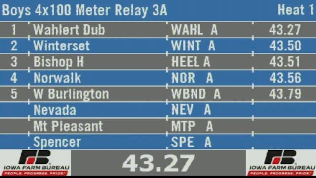 Boys 4x100 Meter Relay 3A Final