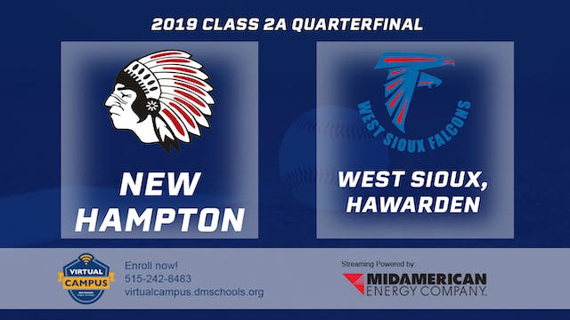 2019 Baseball 2A Quarterfinal New Ham...