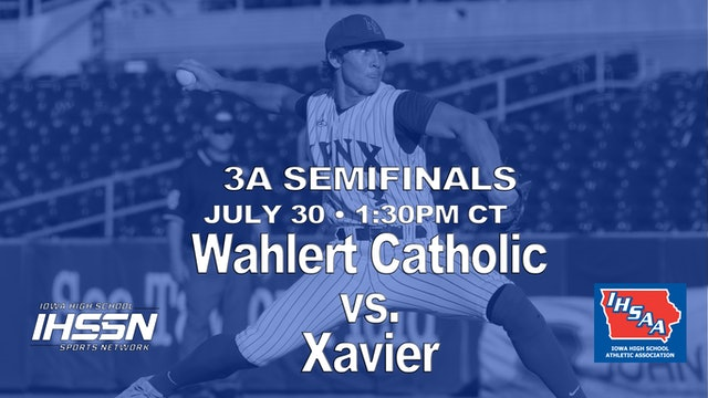 2021 3A SemiFinals - Wahlert Catholic vs. Xavier