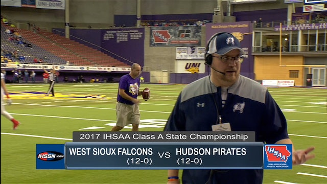 2017 Football Class A Final Highlights - West Sioux vs. Hudson