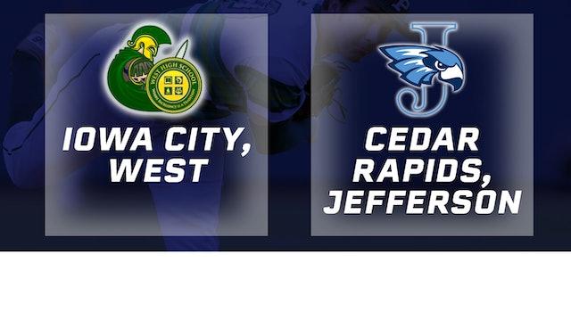2016 Baseball 4A Quarterfinal - Iowa City, West vs. Cedar Rapids, Jefferson