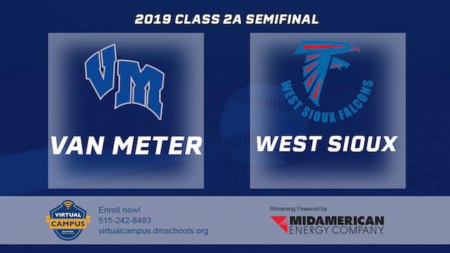 2019 Baseball 2A Semifinal - Van Mete...