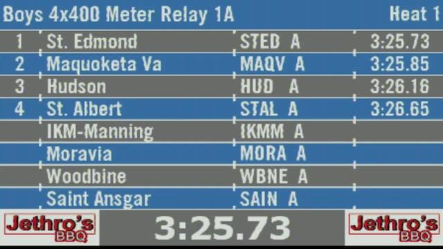 Boys 4x400 Meter Relay 1A Final