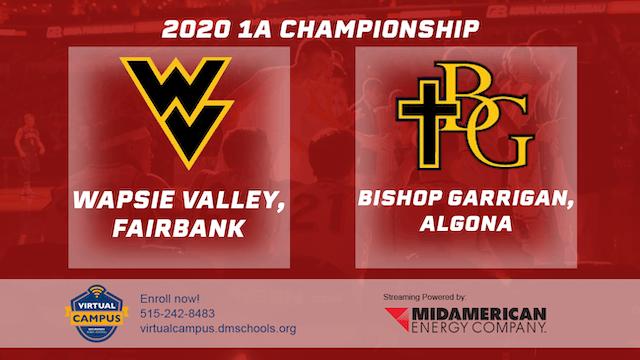 2020 Basketball 1A Championship - Wap...