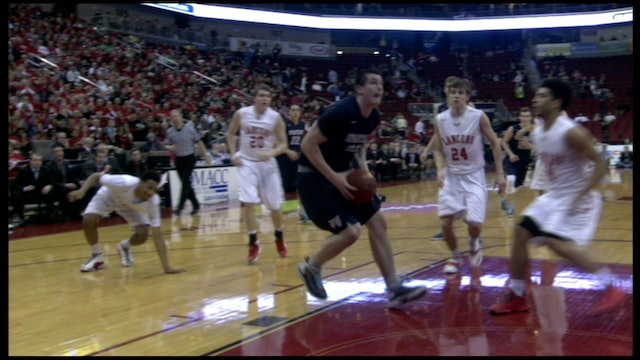 2015 Basketball 4A Final Highlights - North Scott vs. Pleasant Valley