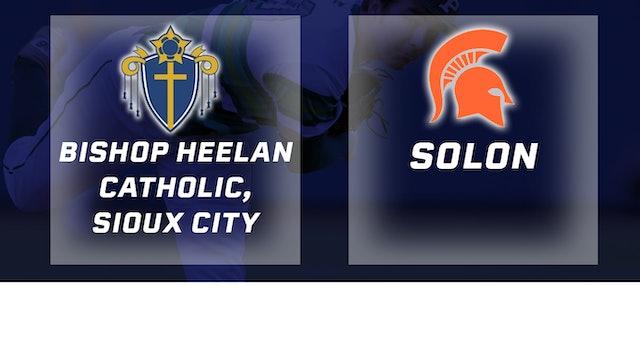 2018 Baseball 3A Quarterfinal - Bishop Heelan Catholic, Sioux City vs. Solon