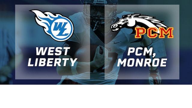 2018 Football 2A Semifinal - West Liberty vs. PCM, Monroe