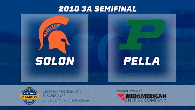 2010 Football 3A Semifinal - Solon vs...
