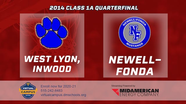 2014 Basketball 1A Quarterfinal - Wes...