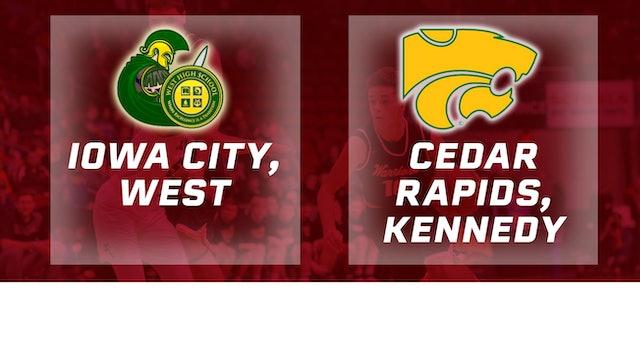2017 Basketball 4A Semifinal (Iowa City, West vs. Cedar Rapids, Kennedy)