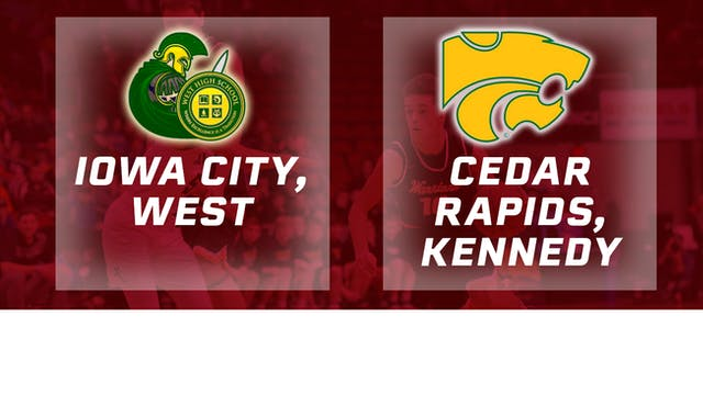 2017 Basketball 4A Semifinal (Iowa Ci...