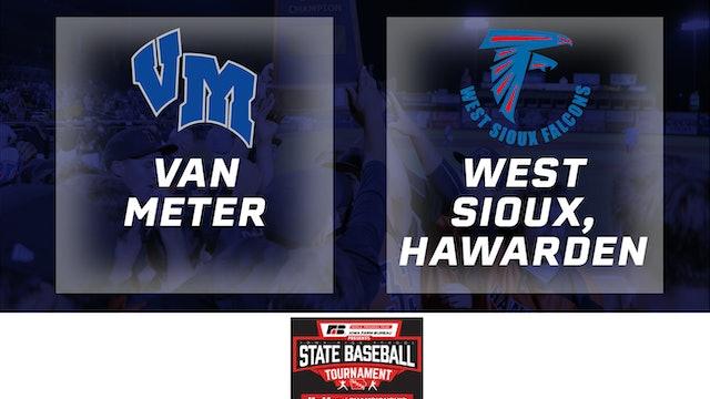 2019 Baseball 2A Semifinal - Van Meter vs. West Sioux