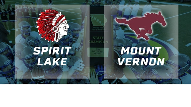 2015 Football 2A Championship - Spirit Lake vs. Mount Vernon