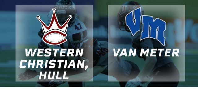2016 Football 1A Semifinal - Western Christian, Hull vs. Van Meter
