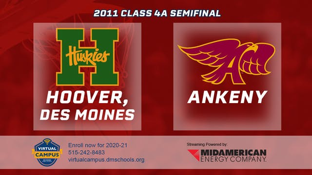 2011 Basketball 4A  Semifinal - Hoove...