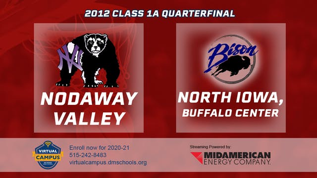 2012 Basketball 1A Quarterfinal - Nod...