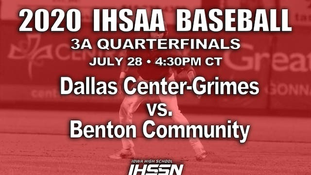 3A QF - DALLAS CENTER - GRIMES  VS. B...