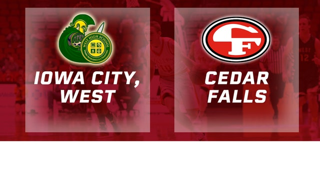2016 Basketball 4A Semifinal Iowa City, West vs. Cedar Falls
