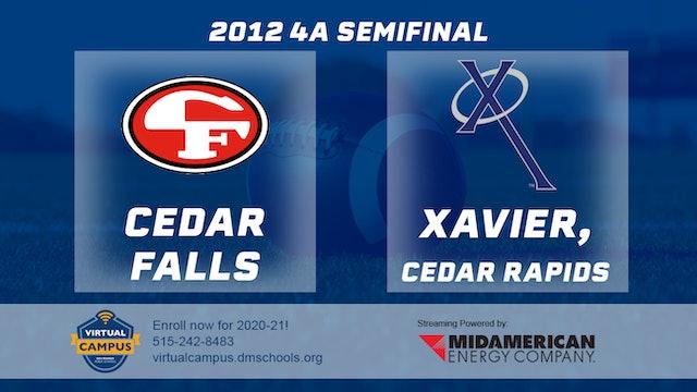 2012 Football 4A Semifinal - Xavier, Cedar Rapids vs. Cedar Falls