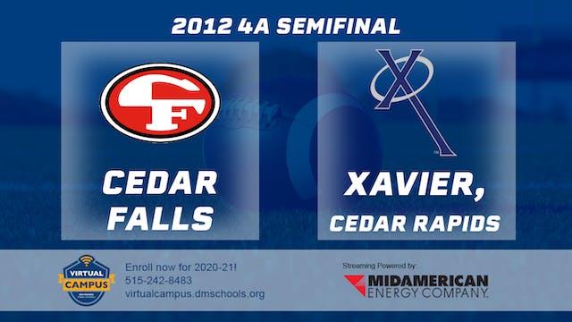 2012 Football 4A Semifinal - Xavier, ...