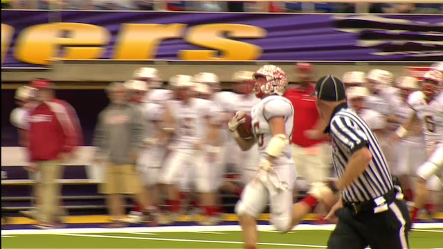 2017 Football Class A Semifinal Highlights - Hudson vs. Saint Ansgar
