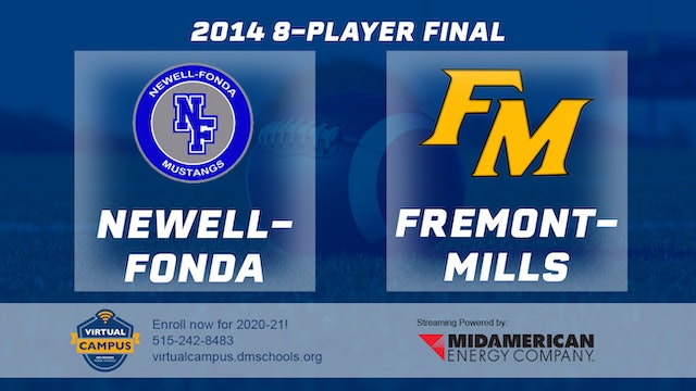 2014 Football 8-Player Final Newell-Fonda vs. Fremont-Mills, Tabor