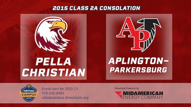 2015 2A Basketball Consolation: Pella Christian vs. Aplington-Parkersburg