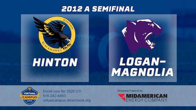 2012 Football Class A Semifinal - Hin...