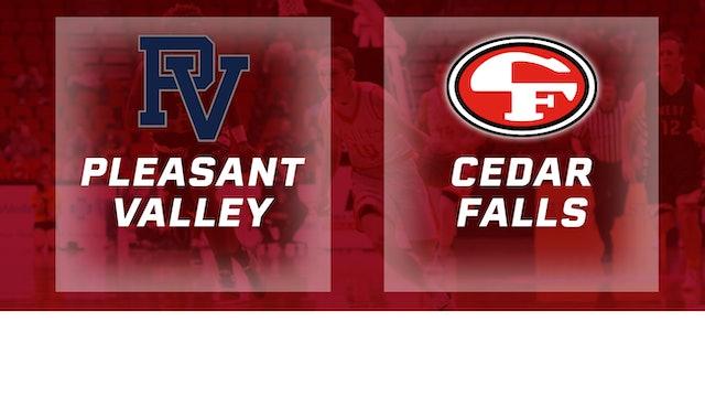 2016 Basketball 4A Consolation Pleasant Valley vs. Cedar Falls