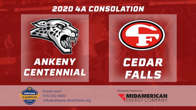 2020 Basketball 4A Consolation - Ankeny Centennial vs. Cedar Falls