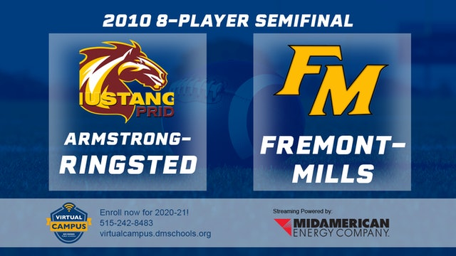 2010 Football 8-Player Semifinal - Armstrong-Ringsted vs. Fremont-Mills