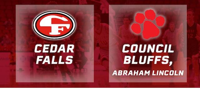 2016 Basketball 4A Quarterfinal Cedar Falls vs Council Bluffs, Abraham Lincoln